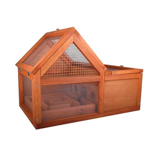 Cage pour lapin disponible sur Wanimo.com